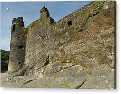 Acrylic Print featuring the photograph Castle - Ardennes - Belgium by Urft Valley Art