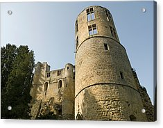 Acrylic Print featuring the photograph Castle - Ardennes - Luxembourg by Urft Valley Art