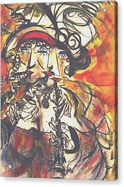 Clarenet Acrylic Print by David Grudniski