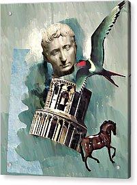 Classical   Acrylic Print by Sarah Loft