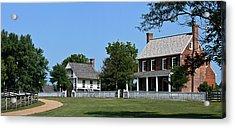 Clover Hill Tavern Appomattox Court House Virginia Acrylic Print by Teresa Mucha