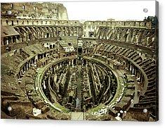 Colosseum Acrylic Print by Emanuel Tanjala
