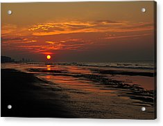 Dawn Of A New Day Acrylic Print by Kathy Jennings