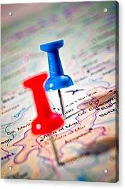 Destinations Acrylic Print by Jim DeLillo