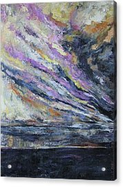 Acrylic Print featuring the painting Dispelling Storm by Debora Cardaci
