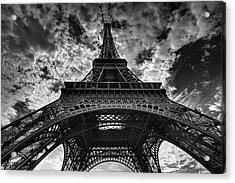Eiffel Tower Acrylic Print by Allen Parseghian