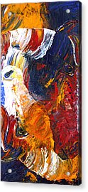 Acrylic Print featuring the painting Embraced by Jennifer Godshalk
