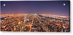 Empire State Building 86th Floor Observatory Acrylic Print by James DiBianco Jr