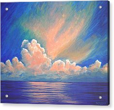 Evening Sky Acrylic Print by Dee Youmans-Miller