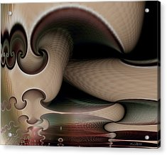 Acrylic Print featuring the digital art Evolving by Kim Redd
