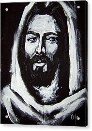 Face Of Christ Ccsa Acrylic Print