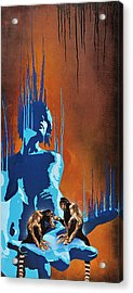 Feebleness In The Palm Of Her Hand Acrylic Print by Tai Taeoalii