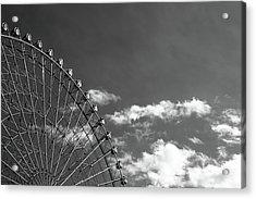 Ferris Wheel Acrylic Print by Kiyoshi Noguchi