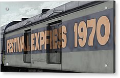 Festival Express Acrylic Print