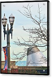 Acrylic Print featuring the photograph Finial Faux Pas by Chris Anderson