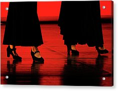 Acrylic Print featuring the photograph Flamenco 2 by Pedro Cardona