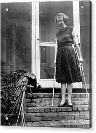 Flannery Oconnor 1925-1964, American Acrylic Print by Everett