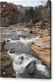 Flow Motion Acrylic Print