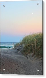 Full Moon Wave Acrylic Print by Todd Breitling