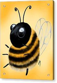 Funny Bee Acrylic Print