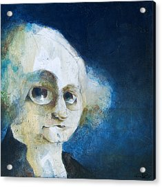 George Acrylic Print by Kurt Riemersma