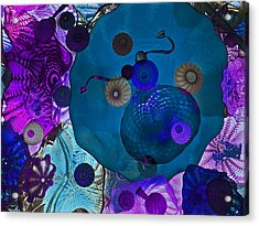 Glass Menagerie Acrylic Print by James Mancini Heath