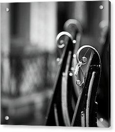 Gondolas Acrylic Print by Stefan Nielsen