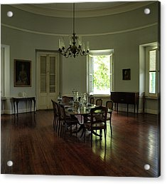 Greathouse Dinning Acrylic Print by Dennis Stein