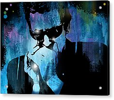 Harmonica Blues Acrylic Print by Paul Sachtleben