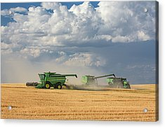 Harvest Clouds Acrylic Print by Todd Klassy