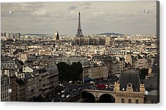 Heart Of City, Paris Acrylic Print