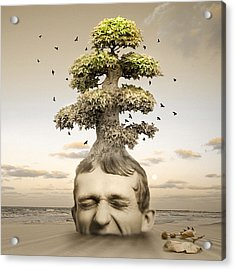 Heaven Or Hell Acrylic Print by Mostafa Moftah