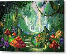 Hidden Treasure Version 2 Acrylic Print by Philip Straub