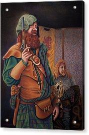 Highlanders Acrylic Print by Sandra Lynn