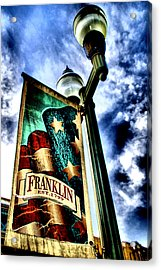 Historic Downtown Franklin Acrylic Print by Ione Starr