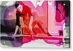 Homage To Helen Frankenthaler 1928 2011 Acrylic Print