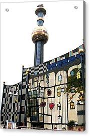 Hundertwasser Building Acrylic Print