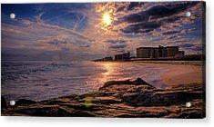 Hurry Sundown Acrylic Print by David Hahn