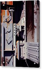 Industrial Background Acrylic Print