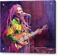 Jammin - Bob Marley Acrylic Print