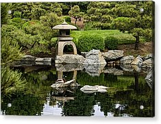 Acrylic Print featuring the photograph Japanese Garden by Catherine Fenner