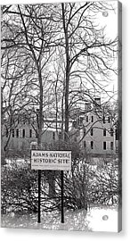 John Quincy Adams House Ll Acrylic Print by Heather Weikel
