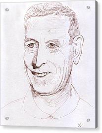 John Wooden Acrylic Print