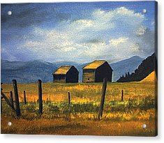 Kila Barns Acrylic Print