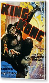 King Kong Poster, 1933 Acrylic Print by Granger