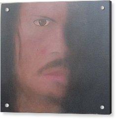 Kirk Hammett Acrylic Print by Patricia Cleasby