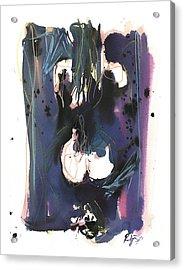 Kneeling Acrylic Print