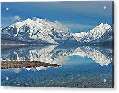 Lake Mcdonald Acrylic Print by Mark Shaiken - Photography