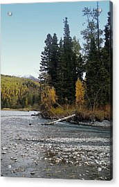 Last Chance On The Kenai Acrylic Print