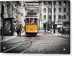 Lisboa Tram II Acrylic Print